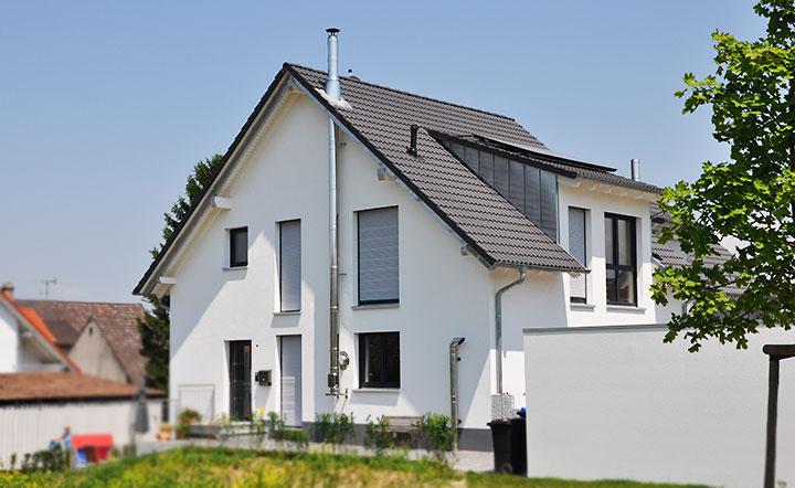 Das Doppelhaus Mit Optimaler Flächennutzung